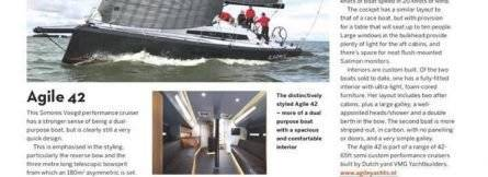 Agile 42 Featured in Yachting World
