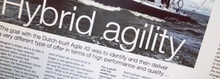 Agile 42 in Seahorse Magazine